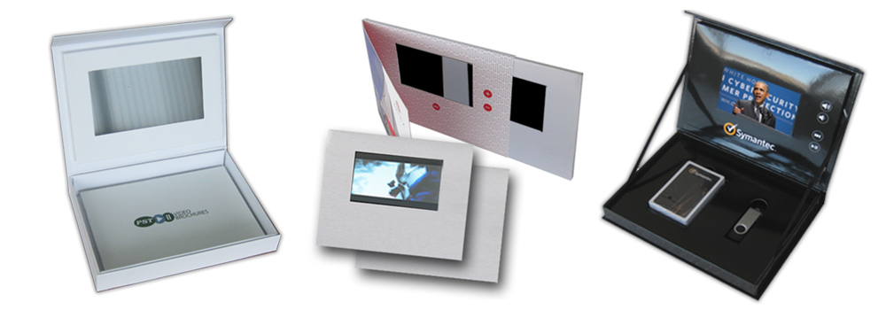 Video Brochure Module with a 5 inch LCD screen