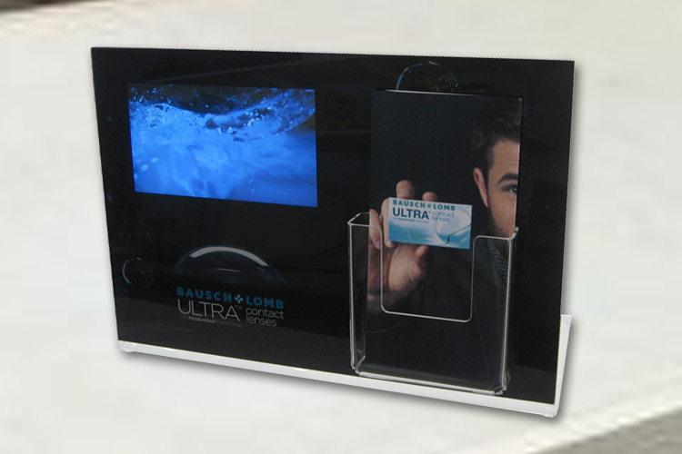 Video Brochure POS Display