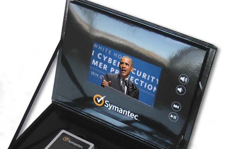 Video Brochure Module - 5inch - Symantec