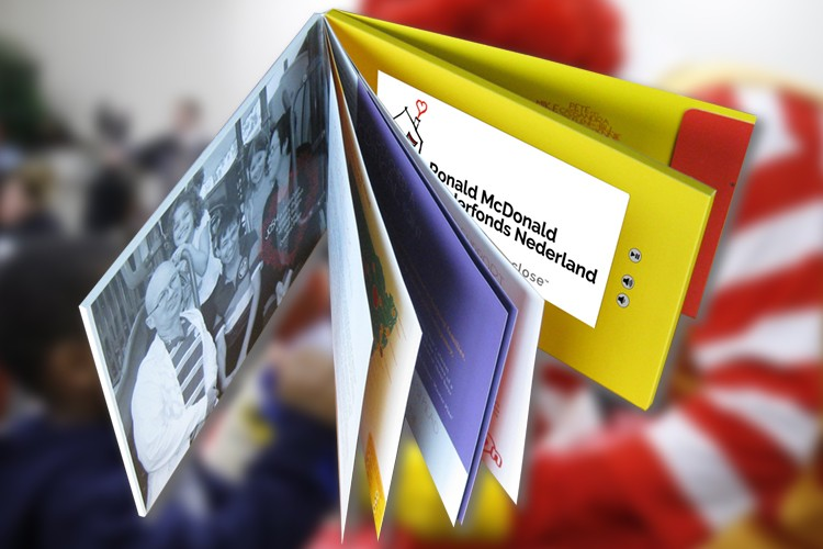 Video-Brochure-book-10inch-Ronald-McDonald