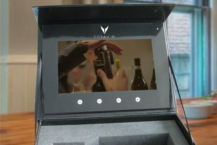 videobox 10 inch screen - Coravin